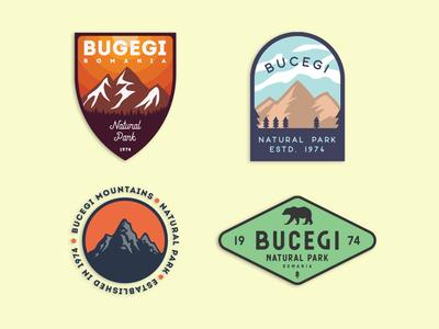 Bucegi - Mountain badges