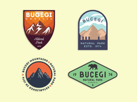 Bucegi - Mountain badges
