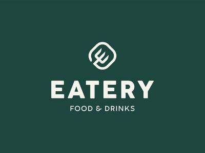 Eatery - restaurant logo concept
