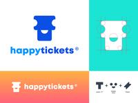 Ticket - Logo Design