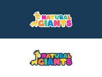 Children's products logo concept