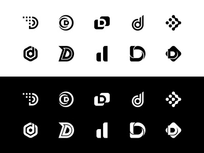 D logo exploration
