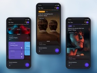 Health App concept elegant design e-commerce exploded pure minimalism ux ui minimal