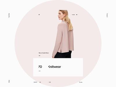 COS iPad web ux ui site pure minimalism minimal grid exploded e-commerce desktop