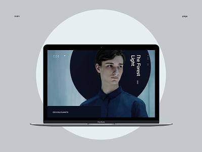 COS. Main page. web ux ui site pure minimalism minimal grid exploded e-commerce desktop