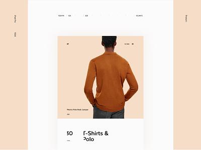 COS Catalog page web ux ui site pure minimalism minimal grid exploded e-commerce desktop