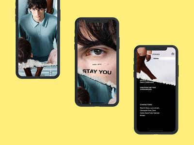 Zara App. iphone iphonex ios store minimal app zara fashion shop ux ui