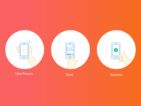 Simple Illustrations for Mobile App Project