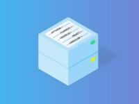 Web Development Service — Isometric Illustrations Serie