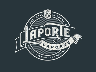 Laporte & Laporte Badge