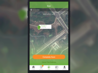 Field Map Scan Screen