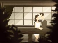 Gull Lake - Music Video Illustrations - #1