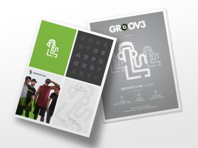 GROOV3 Flyer Design