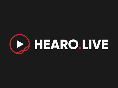 Hearo.Live Redesigned Logo vector brand design branding design brand identity branding logos logo design logotype logo