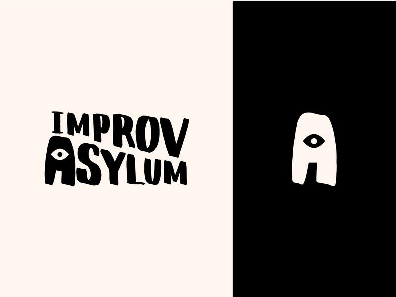 Improv Asylum Logo branding logo