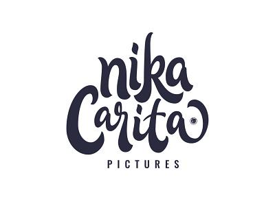 Nikacarita hand lettering custom type logo design calligraphy typography lettering logotype