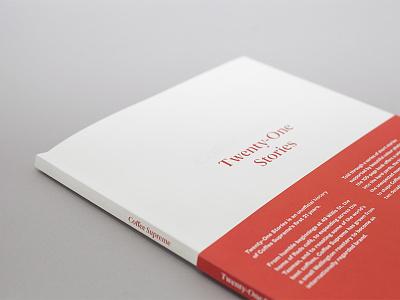 Coffee Supreme - 21 Stories typography print book coffee coffee supreme