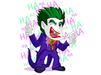 The Joker evil arkham illustration villain lego batman joker