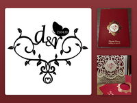 Wedding logo - Danny & Raj
