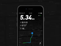Running app interface