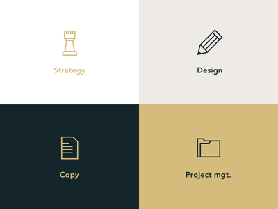 Icons icons outline line illustration strategy copy design folder pawn pencil paper
