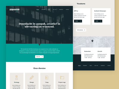 Website website homepage flat design icons ui ux header photography