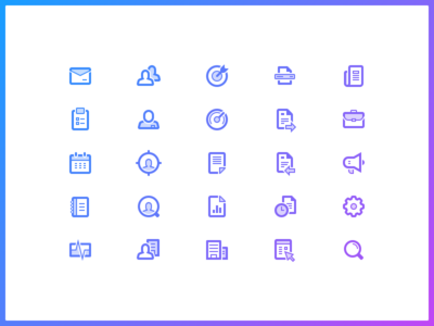 Iconsss settings invoice account notes company mail task calendar dashboard custom icon set icons