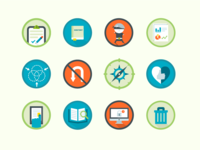 Final content audit icons
