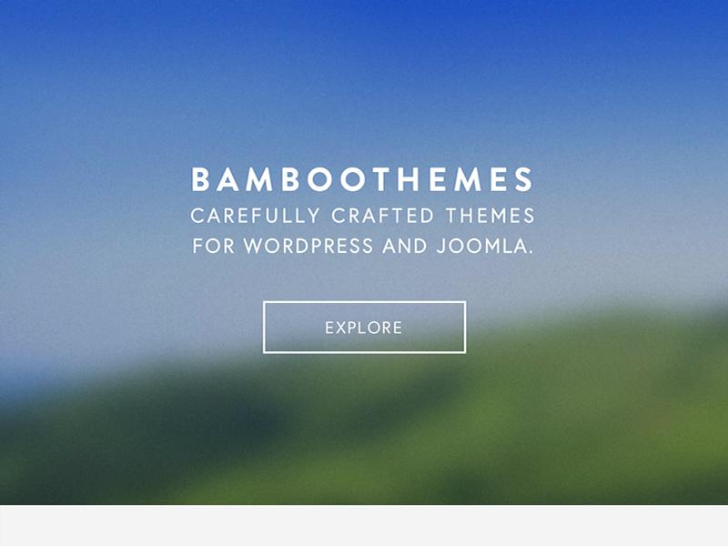 Bamboothemes explore transparent blurred tour button