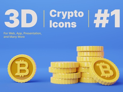 3D Bitcoin Cryptocurrency Icons png 3d bitcoin 3d icon icons icon currency bitcoin concept vector illustration flat web page agency app 3d character 3d art 3d illustration conceptual 3d animation