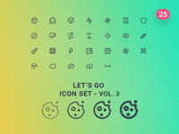 Let's Go Icon Set – Vol.3