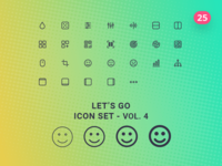 Let's Go Icon Set – Vol.4