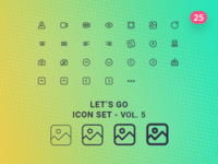 Let's Go Icon Set – Vol.5