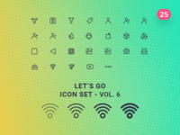 Let's Go Icon Set – Vol.6