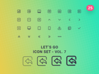 Let's Go Icon Set – Vol.7