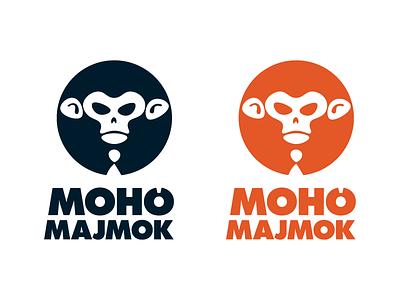 Moho Majmok (Greedy Monkeys) illustration sticker