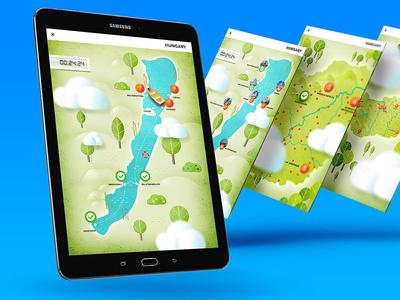 Tourism App UI/UX Design