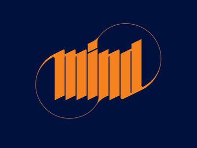 Mind Typo identity design typedesign logotype lettermark lettering typography branding vector logo