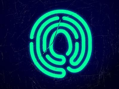 Scratched Logomark