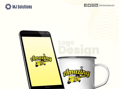Logo Design for the famous Amazing Auto mockup logotype design logo design logo