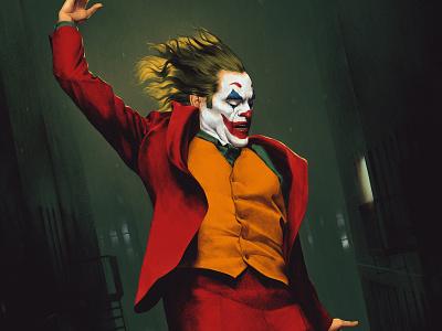 Joker dc joker movie joker poster illustration