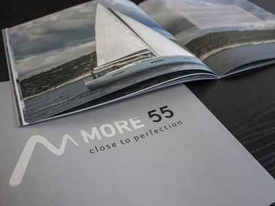 More 55 | Brochure sail adriatic sea charter luxury yacht boat sailing more