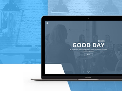 Aplitap Digital Agency website web one single portfolio personal design landing ux ui agency digital