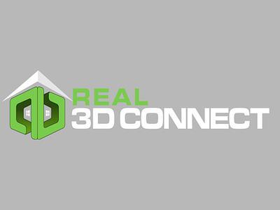 Real 3d Channel art logo