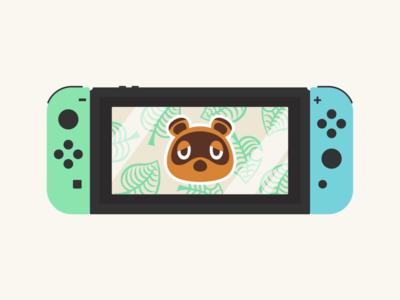 Animal Crossing Switch nintendo switch nintendo game switch artwork inspiration illustrator characterdesign illustration design graphic graphicdesign type animalcrossing