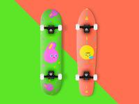 Pops - Skateboard Design