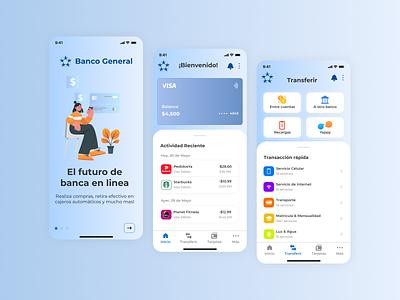 BG Mobile | App Redesign banking app figma onboarding app minimal redesign ux ui