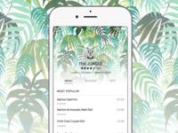 The Jungle (iOS 9 Menu Concept)