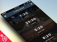 Timezone App for iOS