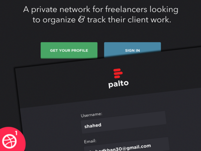 WIP - Palto: Private network for freelancers & clients